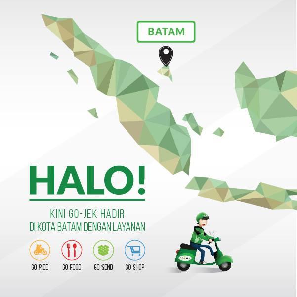 Go Jek Sea: Gojek Secara Resmi Mengumumkan Hadir Untuk Melayani Kota Batam