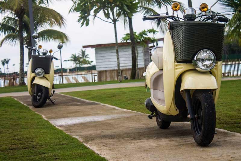 Ini dia scooter listrik yang bisa disewa