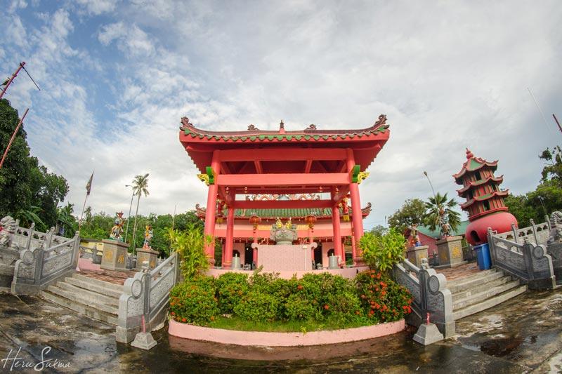 Vihara Sangharama Sebong Pereh, by Heru Sukma