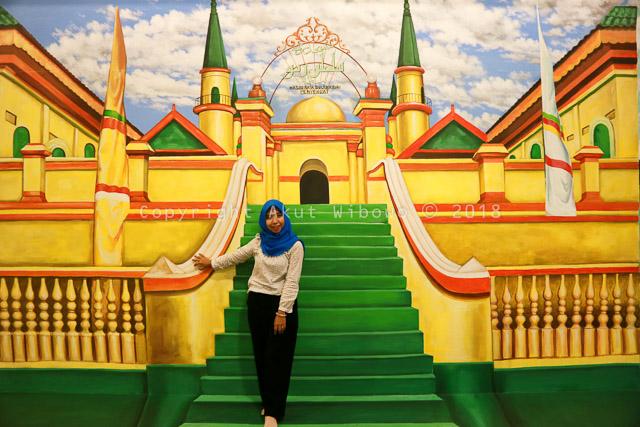 Mesjid Penyengat Art Lagoi Bay Bintan