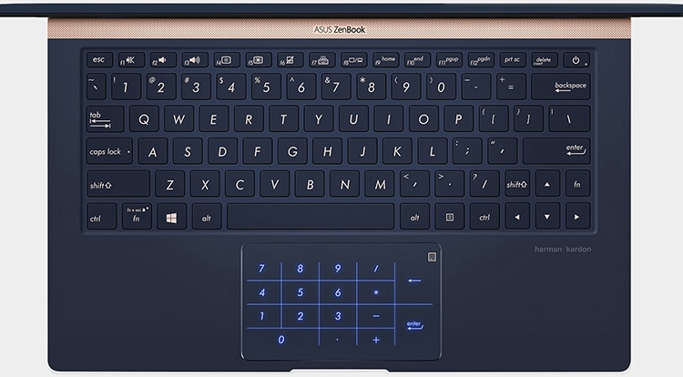 NumberPad. Visual by ASUS